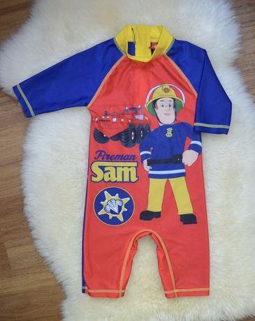 Купальник пожарник Сэм, купальный костюм 3-4 года