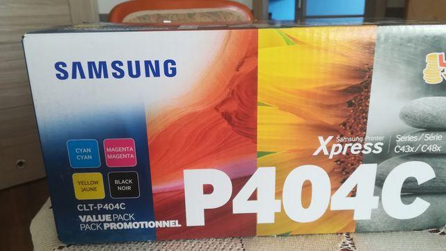 SamsungCLT-P404C(SU365A)zestawczarny / cyan / magenta / żółty