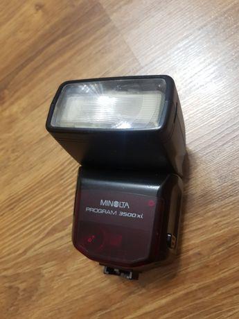 lampa błyskowa  Minolta  program 3500xi
