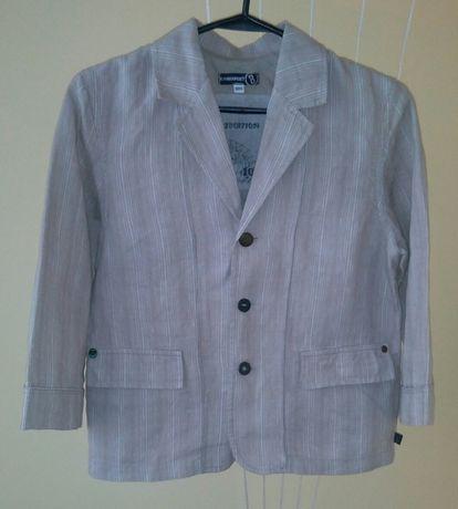 Легкий льняной пиджак для мальчика Jean Bourget (Made in France)