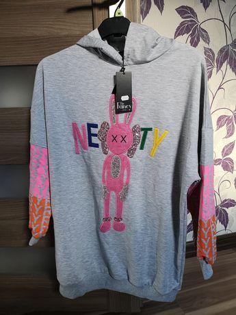 Nowa bluza the fancy królik od M do XL