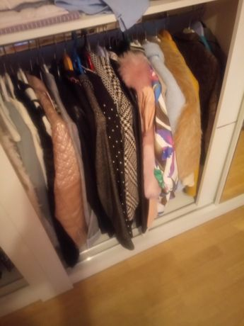 PILNIE!!! Duża ilość ubrań damskich i nie tylko nowe i używane