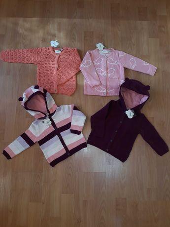 Кофточка lupilu кардиган свитер для девочки вязаная на пуговицах
