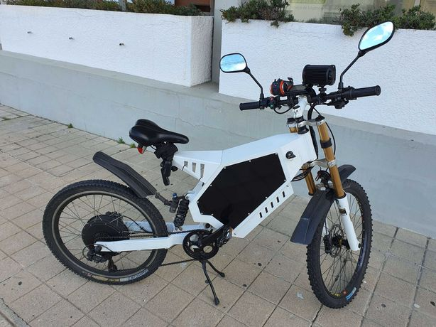 Bicicleta eletrica / electrica Ebike 3000W - 31Ah - 60 km/h - Porto