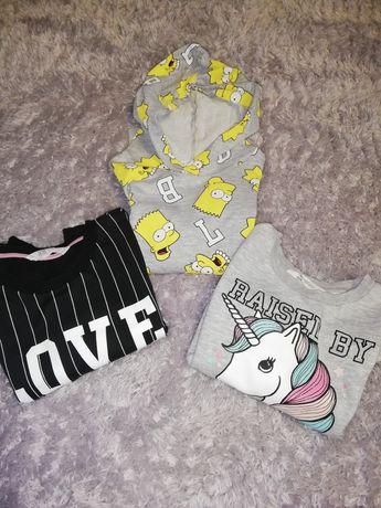 Bluzy dla dziewczynki 134/140