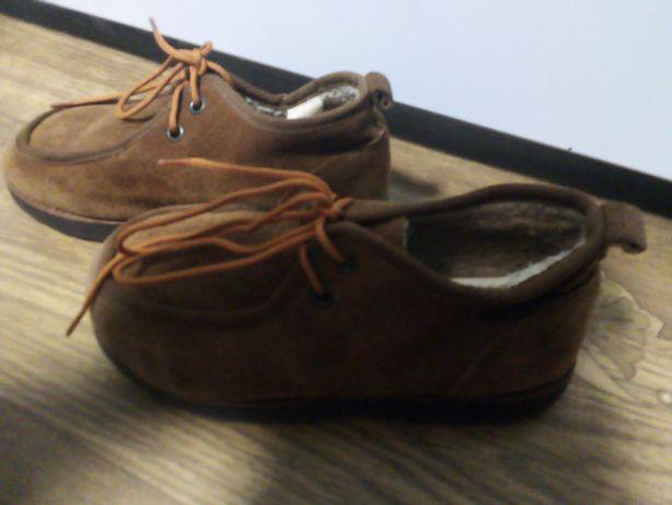 Ботинки натуралки, замшевые демисезонные