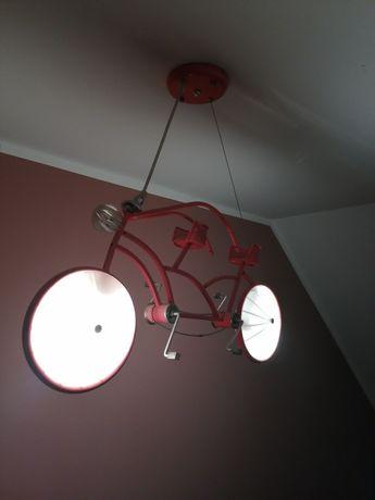 Lampa sufitowa rower