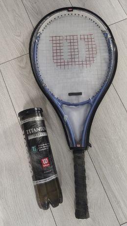 Rakieta tenisowa Wilson + piłki