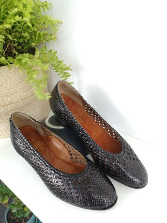Sapatos bally madame clássicos anos 50