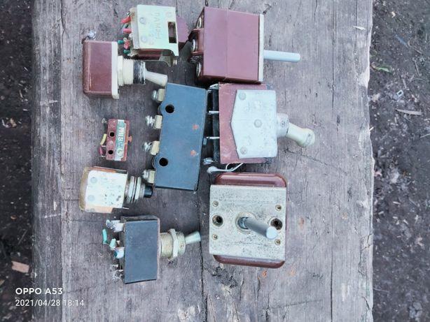 Кнопки, тумблера пкн117, КНР, 512к,п2т,тв1,км1,мп1101