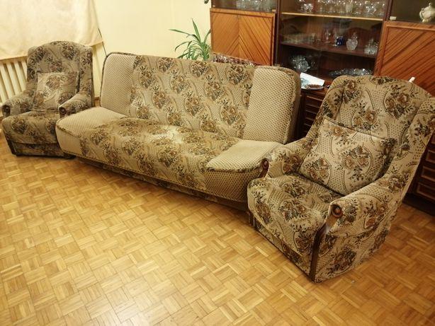 Kanapa+2 fotele Sprzedam.