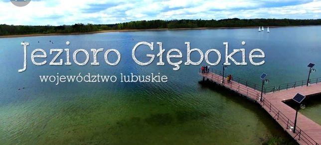 Domek letniskowy nad jeziorem Głębokie/lubuskie