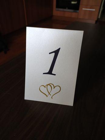 Sprzedam numery stołów na wesele