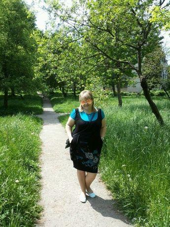 Літнє плаття великий розмір 58