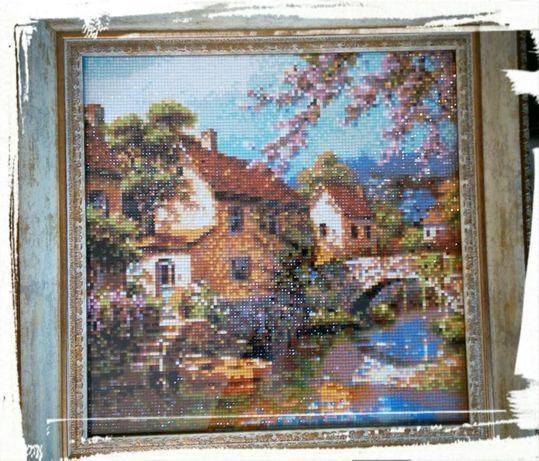 Картина из алмазной мозаики