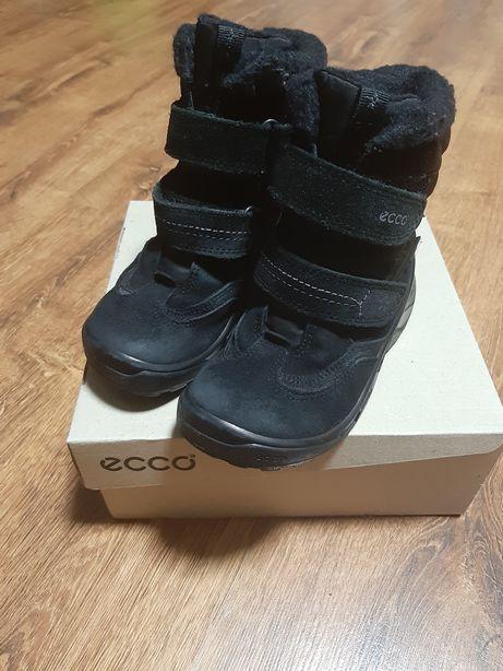 зимние ботинки ecco для девочки