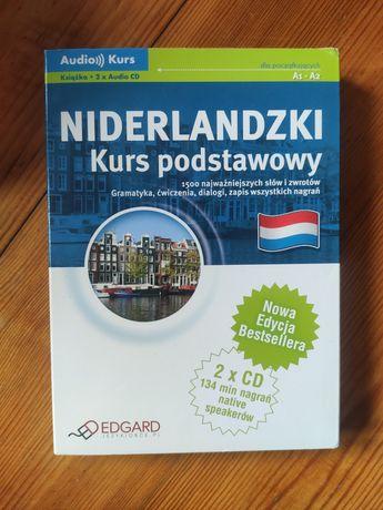 Niederlandzki Kurs Podstawowy Audio Kurs 2x CD + Książka