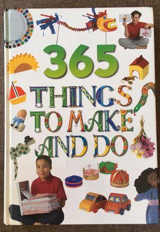 książka angielska 365 things to make and do