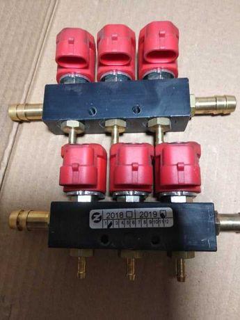 Газовые форсунки VALTEK 6 цилиндров(ОРИГИНАЛ)