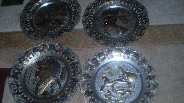 Декор чеканка панно настенное Египет ручная работа цветной металл