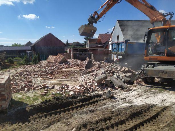 Rozbiórki budynków ceglanych ZA DARMO /Wyburzenia budynków