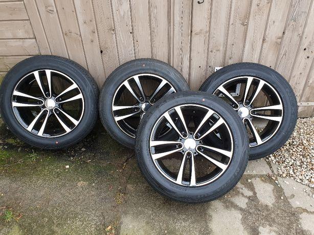 """4 koła Alufelgi z oponami 5x120 17"""" cali Opel VW BMW Chevrolet Honda"""