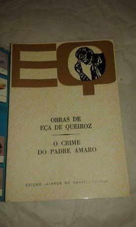 O Crime do Padre Amaro - Eça de Queiroz - Livros do Brasil