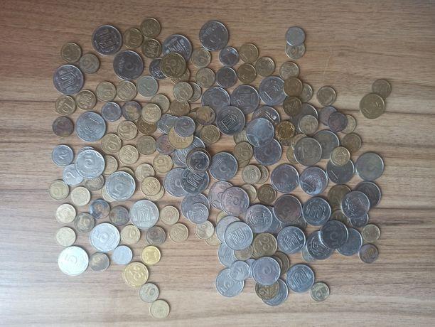 Продам українські монети які вже не ходять 1коп 2коп 5коп 10коп 25коп