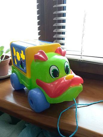 Машина 3 в 1 сортер, машинка большая детская игрушка, каталка