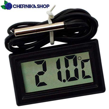Универсальный термометр с выносным датчиком температуры / градусник