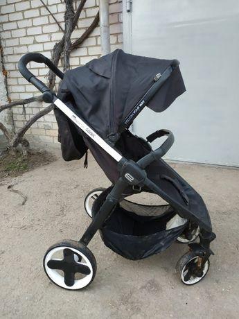Детская прогулочная коляска Espiro Sonic черная, б\у, Эспиро Соник