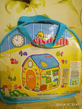 Палатка детский домик
