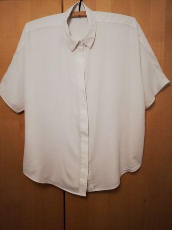 Bluzka h&m biała śmietanka xxxl 48-52