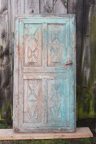 stare drzwi do domu ciężkie solidne 100 letnie do renowacji