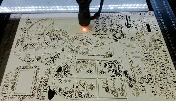 Лазерная резка лазерная гравировка от 3грн