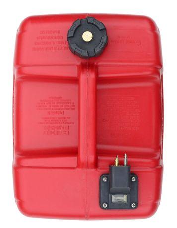 Бак топливный, тип Parsun c коннектором Yamaha 12л и датчиком уровня