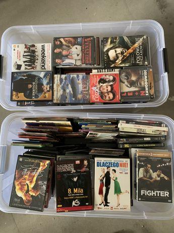 Płyty DVD różne głównie sensacja, thrillery oraz komedie