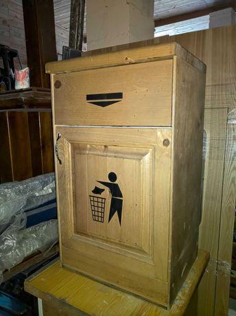 Тумба-смітник дерев'яна