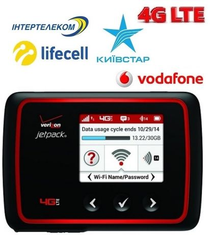 3G/4G wifi роутер Novatel MiFi 6620L Box, павербанк 4000 мАч, гарантия