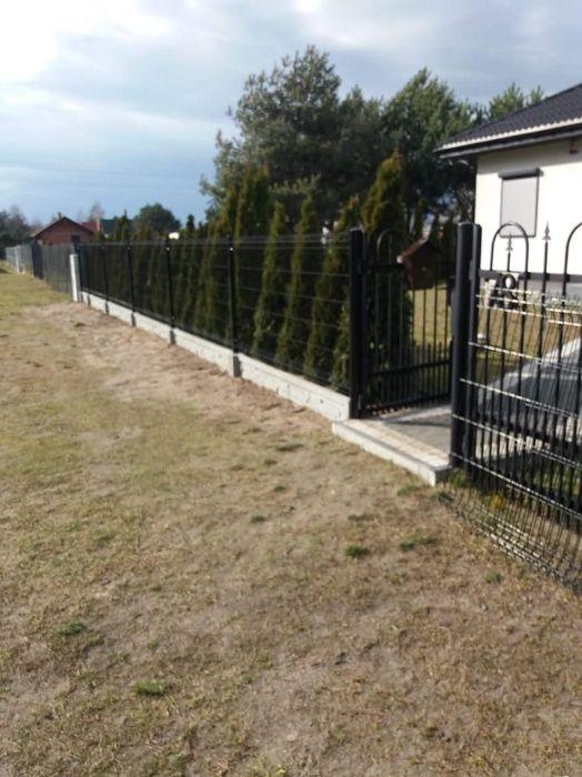 Montaż ogrodzeń układanie kostki brukowej