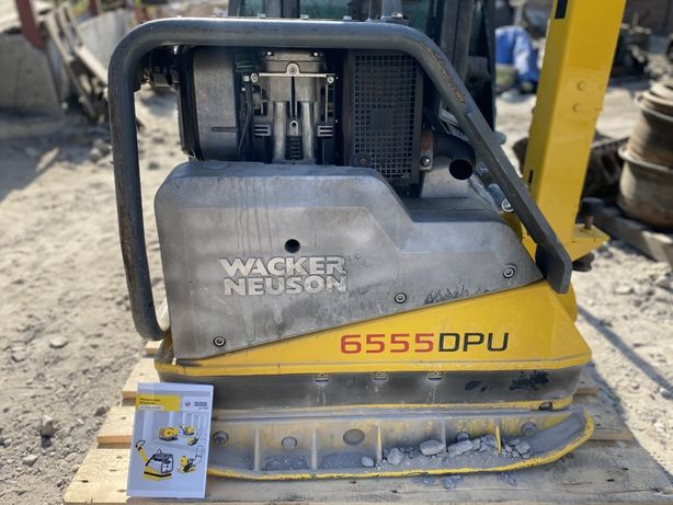 Виброплита Wacker Neuson DPU6555H 499кг 2019г вибротрамбовка трамбовка