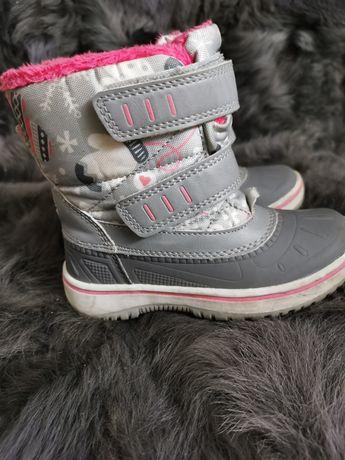 Buty zimowe 25 dla dziewczynki