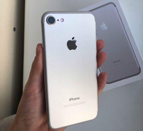 iPhone 7 32gb silver neverlock идеальное состояние