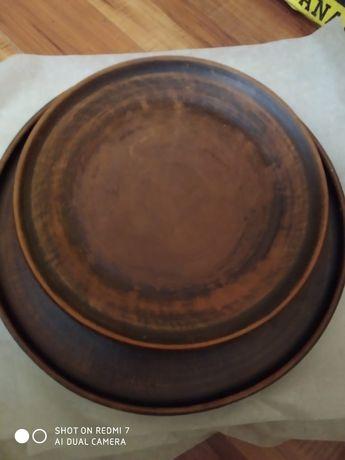 Продам тарелки глиняные
