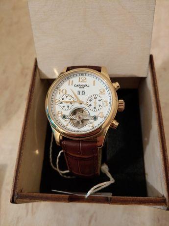 Продам новые часы Carnival Swiss Brown