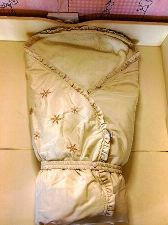Конверт-одеяло (зимний) и одеяльце (в подарок)