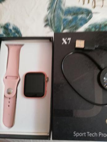 Smart watch modelo X6/X7 relogio inteligente por bluetooth novo