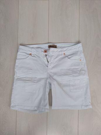 Damskie shorty białe - KappAhl (rozmiar 164)