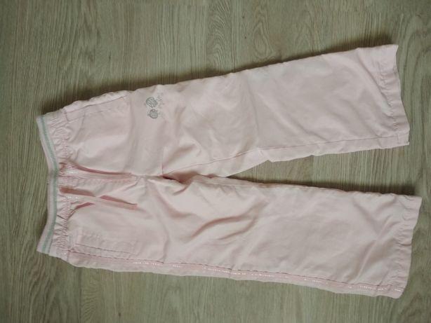 Спортивные утепленные штанишки для девочки 104 размер
