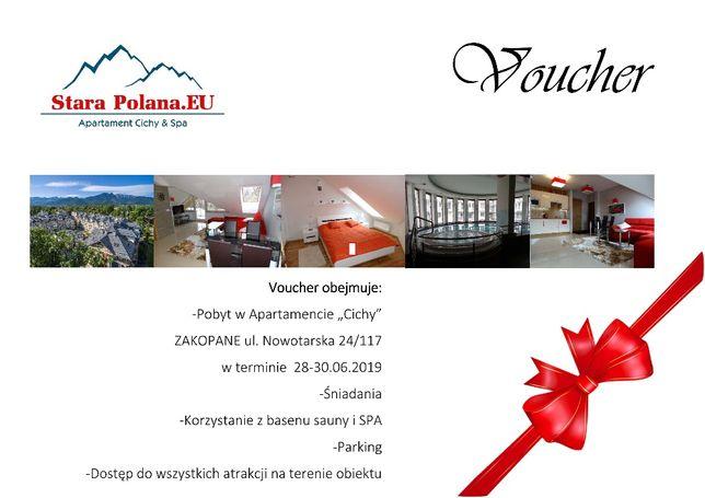 VOUCHER UPOMINKOWY na pobyt w Apartamentach Stara Polana Zakopane